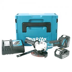 Makita DGA504RTJ; beste slijper met accu.