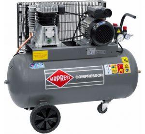 Oliegesmeerde compressor