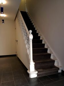 planken maken in trapkast
