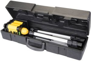 laserwaterpas met koffer
