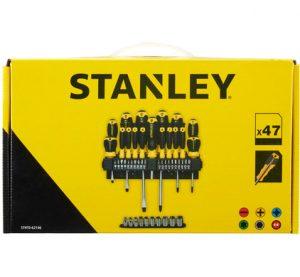 Stanley schroevendraaierset 47 stuks doos