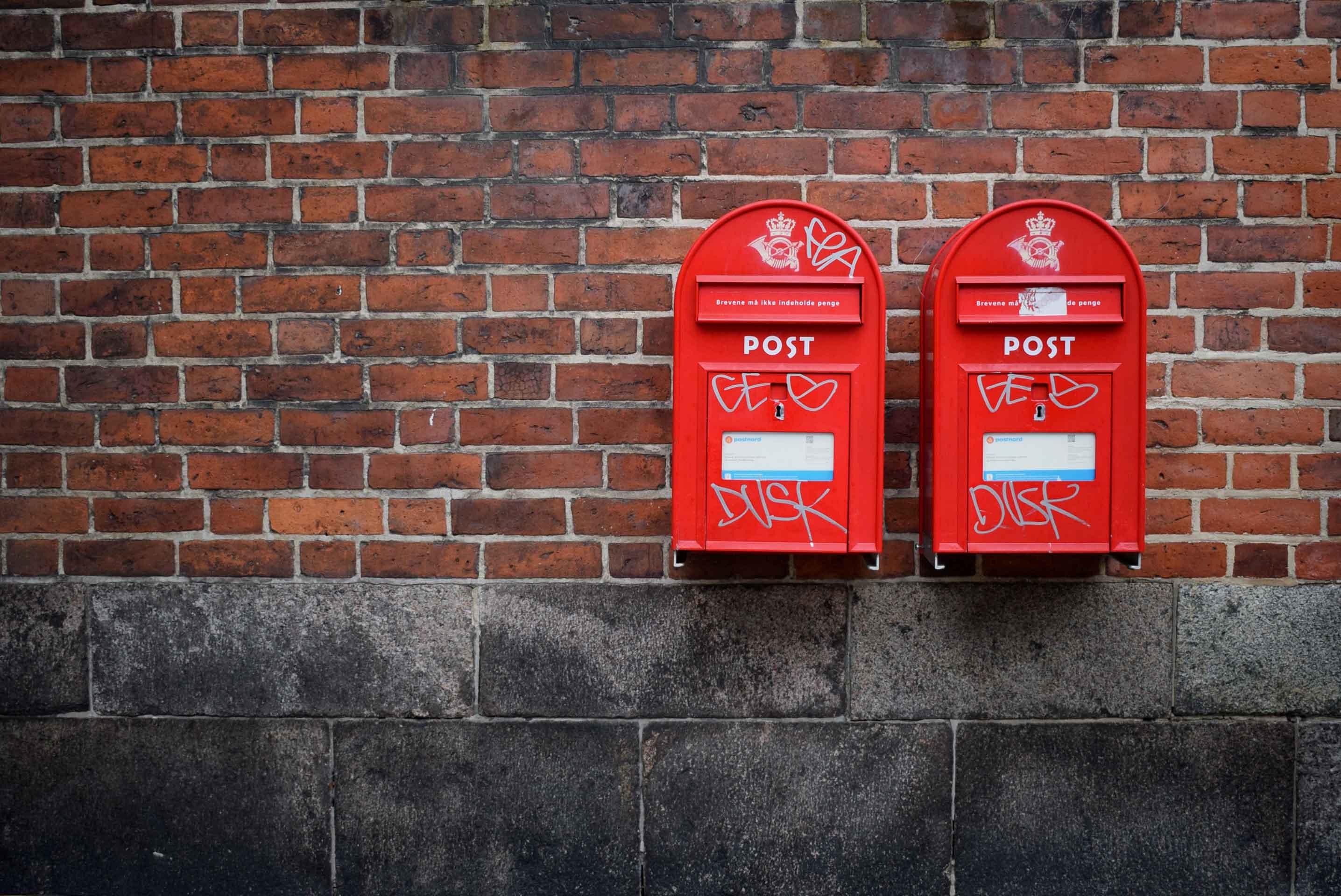 Maken van je eigen brievenbus