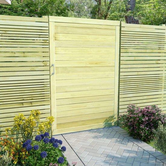 Maken van een houten poort
