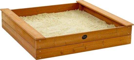 Maken van een zandbak zelf doen